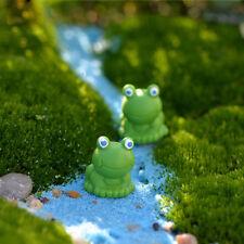 Frog Fairy Dollhouse Garden Ornament Miniature Figurine Craft Plant Decoration