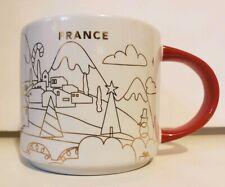 Starbucks Paris France Mug You Are Here YAH Christmas Cup Holidays