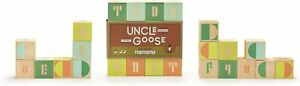 ABC Kids Toddlers Learning Blocks Uncle Goose Mod Made in The USA