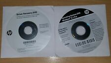 HP Prodesk 400 405 490 driver Recovery DVD 750328-b23 & Windows 8.1 748764-a21