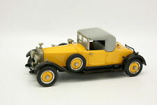 Western Models 1/43 - Rolls Royce Phantom I Doctor Yellow and Black