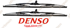 """DENSO First Time Fit Wiper Blade 20"""" & 20"""" Front 160-1120 (Set of 2)"""