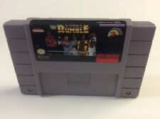 WWF Royal Rumble Snes Super Nintendo Cleaned Tested