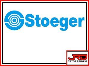 Stoeger Vinyl Logo Sticker in Blue
