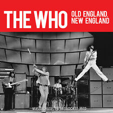 THE WHO New Sealed 2019 UNRELEASED LIVE 1970 MASSACHUSETTS CONCERT CD