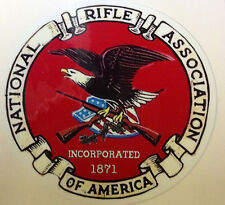 GUN STICKER DECAL   NRA  2nd AMENDMENT