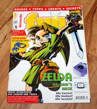 2000 Nintendo Magazine The Legend of Zelda Majora's Mask Turok 3 Mario Party 3