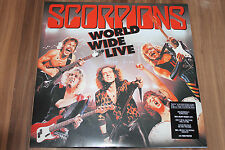 Scorpions - World Wide Live-50th Anniversary Deluxe Edition (DoLP+CD) (Neu+OVP)