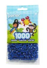1000 Perler Dark Blue Color Iron On Fuse Beads : 80-19008