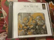 Verdi Macbeth 2 cd's. Taddei, Gencer.  Free p&p