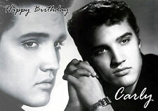 PERSONALISED ELVIS PRESLEY BIRTHDAY CARD