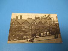 Old Staple Inn Holborn London Postmarked Vintage Color PC32