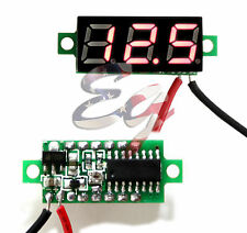 Mini Red DC 0-30V LED Display Digital Voltage Voltmeter Panel For Breadboard