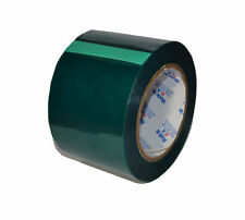 5-2X Rolls High Temp Powder Coating Green Silicone Masking Tape 14mm  x 720 yds