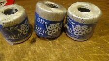 VINTAGE HI FLIER KITE CORD STRING 675 FT 3 SPOOLS NEW OLD STOCK MID CENTURY