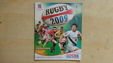 ALBUM PANINI RUGBY 2009 VIDE EMPTY + 6 IMAGES A COLLER
