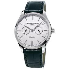 Frédérique Constant Men's FC-259ST5B6 Quartz Black Leather Band 40mm Watch