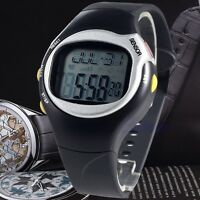 Fashion Sports Running Pulse Heart Rate Monitor Calories Counter Wrist Watch