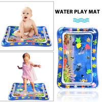 Baby Kinder Wassermatte Aufblasbare Patted Wasserspielmatte Wasser Spielzeug DE