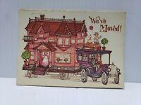 """Vintage 70's Current """"We've Moved"""" Postcards -  Pack of 18 Postcards(FC18-2-K)"""