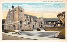 Ohio postcard Dayton Grace M.E. Church