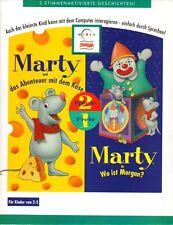 MARTY UND DAS ABENTEUER MIT DEM KÄSE + MARTY in WO IST MORGAN? für PC