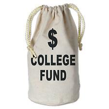 College Fund Money Bag Graduation Party Favor