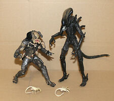 ALIEN & PREDATOR McFarlane Movie Maniacs Deluxe Box Set Action Figure Figur 2002