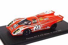 Porsche 917 k 1ST winner le mans 1970 attwood herrmann 1:43 spark 43LM70 résine