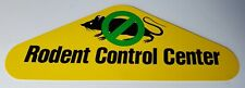 Rodent Control Center Store Display Sign - Double Sided - Rack Topper