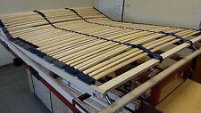 7 Zonen Lattenrost Optimalux KF 160x200, K & F, 42 Federleisten, Kopfteil 592 mm