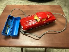 Vintage 1960's Marx Battery Operated Corvette Sting Ray  Original Box  Works!