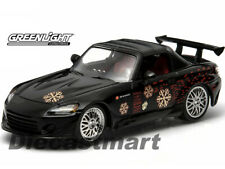 GREENLIGHT 86205 2001 THE FAST AND THE FURIOUS 2002 HONDA S2000 1:43 BLACK