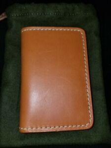 FILSON BRIDLE LEATHER PASSPORT & CARD CASE