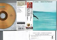 NM CHICK COREA Return To Forever JAPAN Mini-LP CD 24k GOLD w/OBI UCCU-9508 FreeS