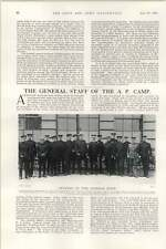 1902 General Staff Alexandra Park Camp Lango And Aro Expeditions