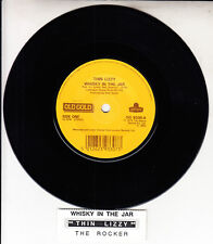 "THIN LIZZY Whiskey In The Jar 7"" 45 rpm vinyl record + juke box strip RARE!"