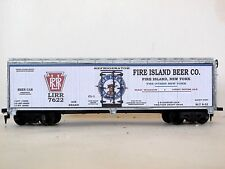 HO CUSTOM LETTERED FIRE ISLAND BEER THE OTHER NY BOXCAR REEFER LOT C
