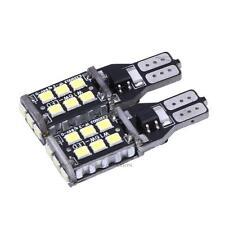2 × Canbus ERROR FREE T10 15 SMD LED Car Side Wedge Light Bulb White Lamp 12-24V