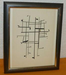Bauhaus Konstruktivismus Suprematismus Gemälde Assemblage Konstrukt 29 x 35 cm