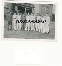Plauen ? altes Haus Villa Soldaten mit Frau beschriftet Foto Sep. 1945 ?
