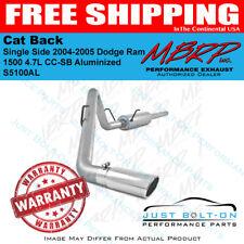MBRP 2004-2005 Dodge Ram 1500 4.7L CC-SB Aluminized Cat Back Single Side S5100AL