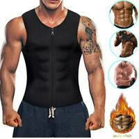 Men Weight Loss Waist Trainer Slimming Sauna Tank Top  Sweat Vest Body Shaper