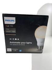 Philips HUE White LED Dimmable Smart Bulb Starter Kit/2 BULBS + BRIDGE open box