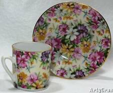 Royal Crown Demitasse Cup and Saucer Floral #4754