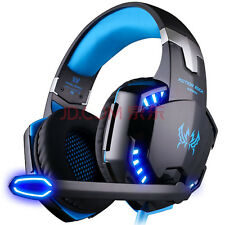 UK Stock e-3lue Cobra hs707 Blue Light Gaming Headsets & Mikrofon MSN Skype