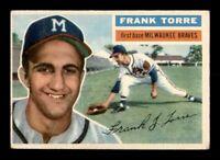 1956 Topps Set Break #172 Frank Torre VG-EX *OBGcards*