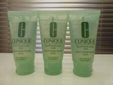 Clinique Liquid Facial Soap. Mild. NEW 90ml (3x30ml) Dry Combination Skin