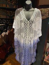 Lace Kimono Vintage Look Embroidered Cloak