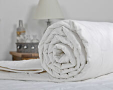 Factory Seconds 1 Tog Duvet with a Cotton Cover - ALL SIZES AVAILABLE